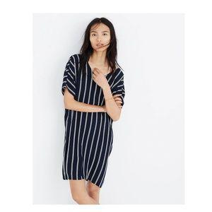 Madewell Striped Plaza Dress